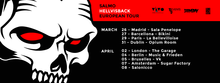 SALMO @Madrid / Hellvisback European Tour