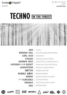 TechnoTrippin' pres.: TECHNO in the Forest (3rd edition)