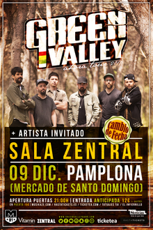 GREEN VALLEY EN PAMPLONA - AHORA TOUR
