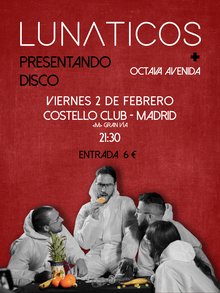Lunáticos & Octava Avenida en Costello Club