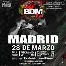 ACZINO vs BLON   BDM MADRID 2018