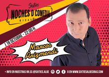 Monólogo MARCOS ARIZMENDI - NOCHES D COMEDIA by Sixties