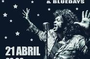 Velma Powell & Bluedays 21 Abril Sala Rouge (Vigo)