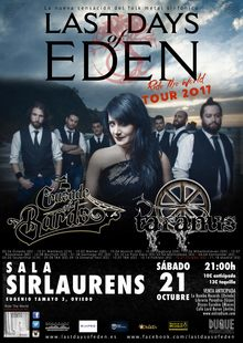 Last Days of Eden + Taranus + Crusade of Bards