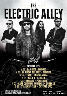 THE ELECTRIC ALLEY @ SALA X (SEVILLA)