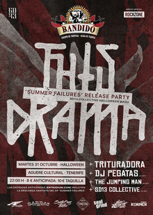 THIS DRAMA 'SUMMER FAILURES' RELEASE PARTY | SD13 COLLECTIVE HALLOWEEN BASH